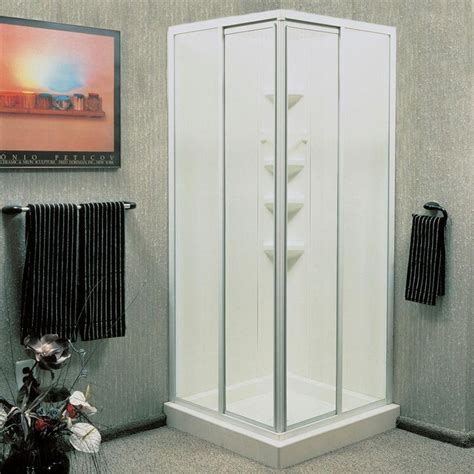 Walk In Corner Shower Units by Best 25 Corner Shower Units Ideas Only On