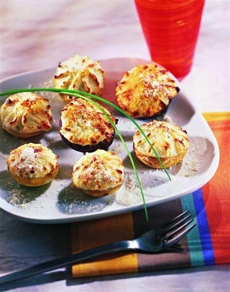 recettes avec boursin cuisine recette chignons farcis au boursin