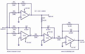 U0026gt Active Crossover Circuit