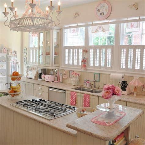 girly kitchen accessories cocina dise 241 ada con el encanto de una pasteler 237 a retro 1221