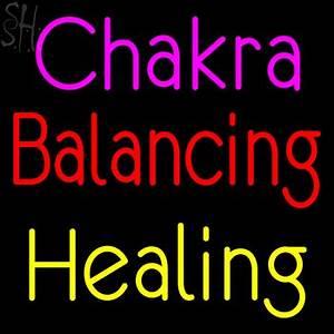Custom Chakra Balancing Healing Neon Sign 2