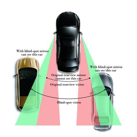 pcs black car blind spot mirror rear view convex mirror side mirror universal  ebay