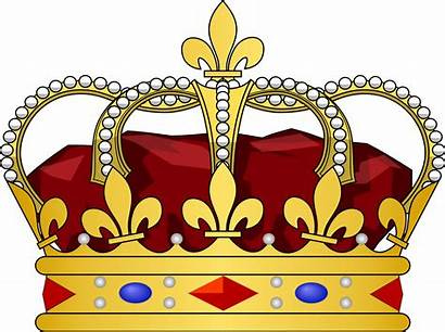 Crown King Clip Clipart Kings Tilted Vector