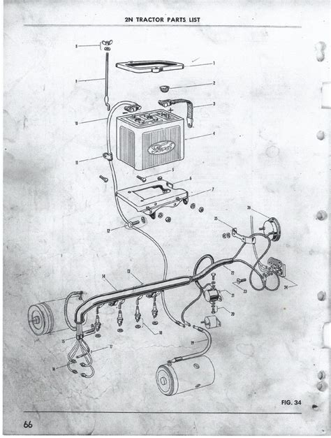 In 1942 Ford Tractor Wiring Diagram by How To Wire 6 Volt 1942 9n Ford 9n 2n 8n Forum
