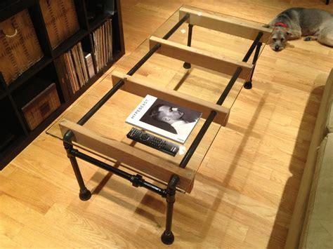 table a manger loft glass loft coffee table by cushdesignstudio on etsy