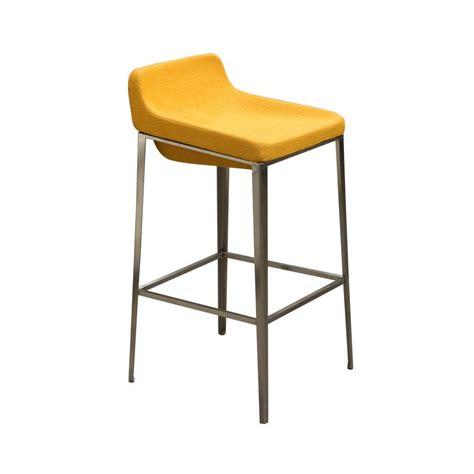 macondray slope bar stool yellow contemporary bar stools
