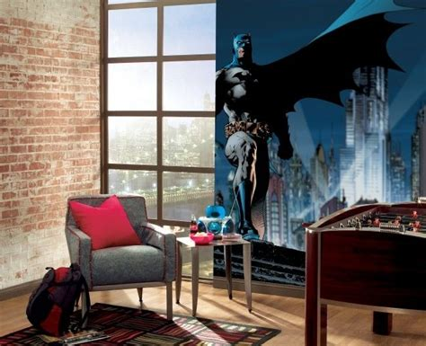 Fototapeten Kinderzimmer Junge by Zimmer Junge Batman Wanddeko Backsteinwand Tapete