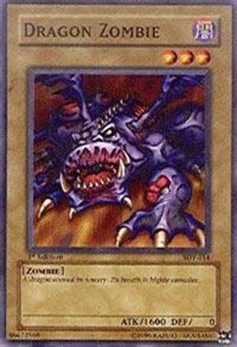 Amazoncom Yugioh!  Dragon Zombie (sdy014) Starter