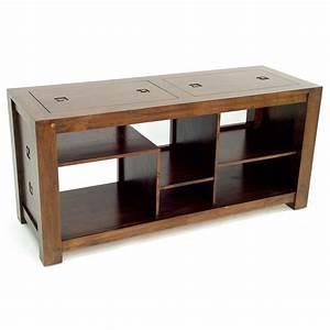 Meuble Tv Hifi : meuble hifi bois banc de tv trendsetter ~ Teatrodelosmanantiales.com Idées de Décoration