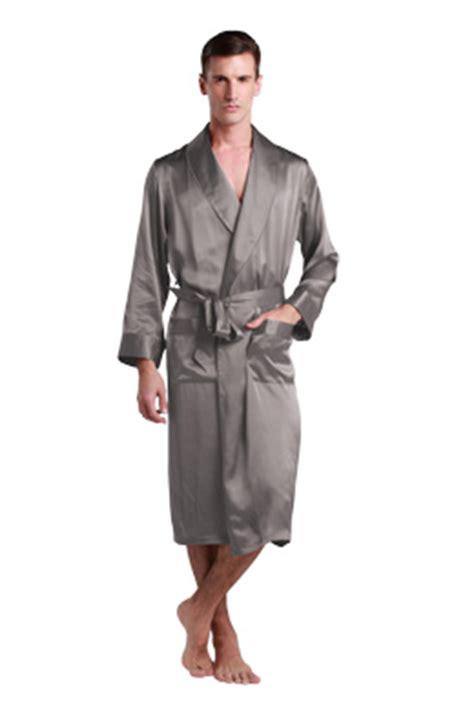 robe de chambre l馮鑽e pour homme robe de chambre et peignoir en soie homme lilysilk