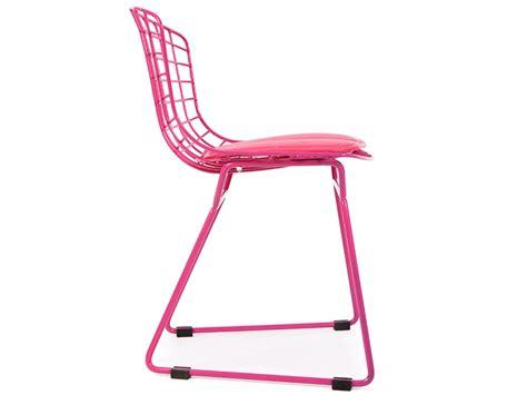 la chaise santa rosa silla nino bertoia wire side rosa