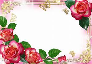 The gallery for --> Rose Flower Frame Png
