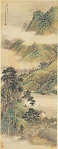 File:Li Yaoping - Ancient temple among mountains and ...