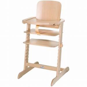Chaise Haute Scandinave Bebe : chaise haute b b family naturel de geuther sur allob b ~ Teatrodelosmanantiales.com Idées de Décoration