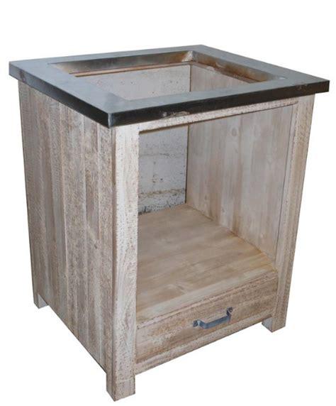 meuble bas cuisine pour plaque cuisson meuble pour table de cuisson cuisine en image