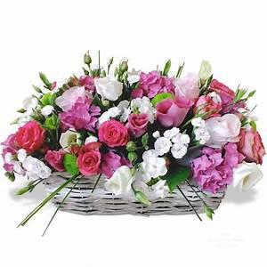 Corbeille De Fleurs Pour Mariage : panier de fleurs harmonie ~ Teatrodelosmanantiales.com Idées de Décoration