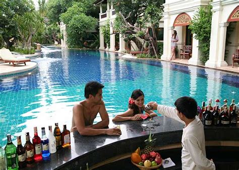 Pool Bar by Swim Up Pool Bar At Centara Khum Phaya Resort Spa