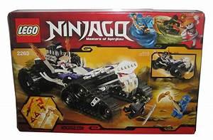 lego ninjago turbo shredder building set 2263