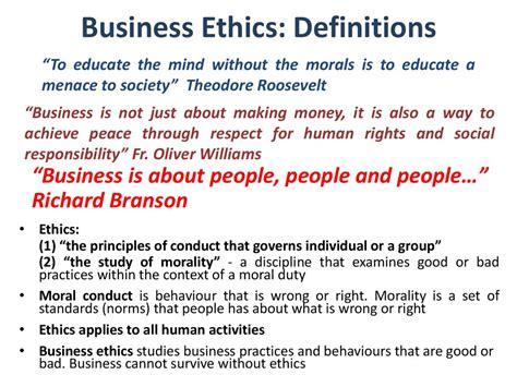 business ethics prezentatsiya onlayn