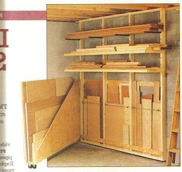 lumber racksheet storage plans
