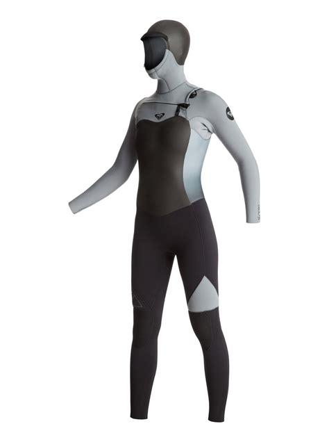 Syncro 5/4/3mm Chest Zip Hooded Wetsuit ERJW203001   Roxy