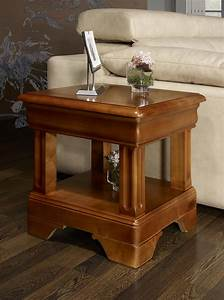 Table Bout De Canapé : bout de canap ou table basse en merisier de style louis philipe meuble en merisier ~ Teatrodelosmanantiales.com Idées de Décoration