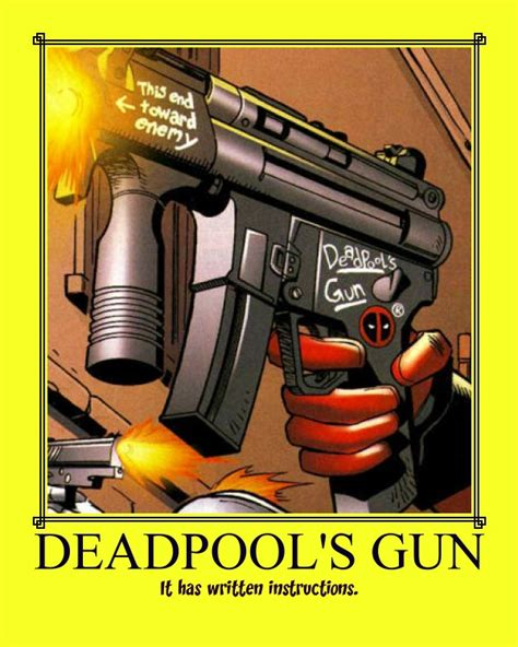 Deadpool's Gun By Torkbacklash On Deviantart