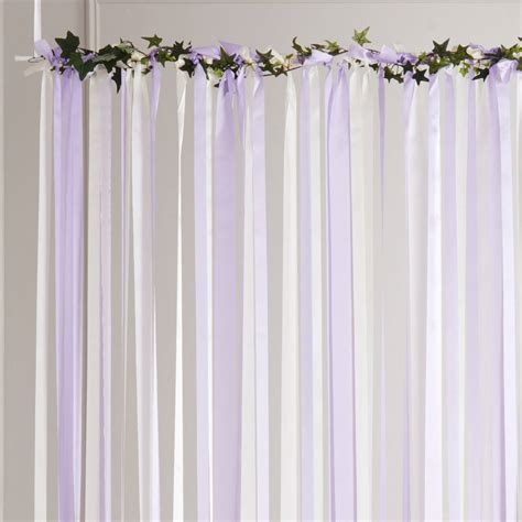 Pale Pink Lace Curtains