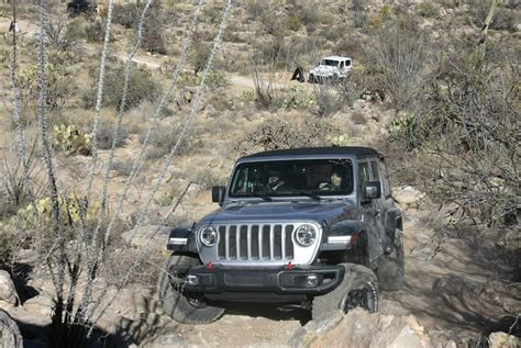 jeep driving away upgrades take nothing away from jeep 39 s off road durability