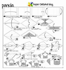 Panda Origami Instructions