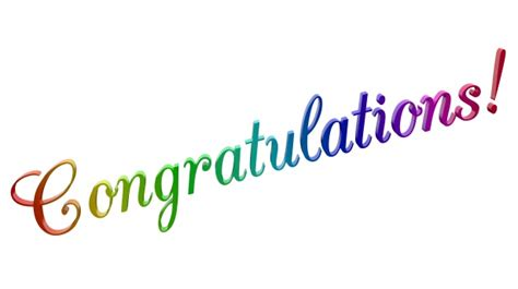 congratulations cac champagne text  stock photo