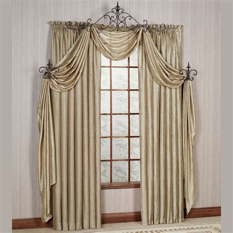 brylane home curtain panels brylane curtains 918 livi grommeted crushed voile window