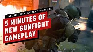 Call Of Duty  Modern Warfare  U2013 5 Minutes Of New Gunfight