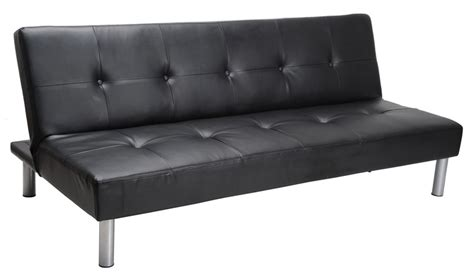 Walmart Sectional Sofa Black by Faux Leather Sofa Bed Black Living Room Furniture