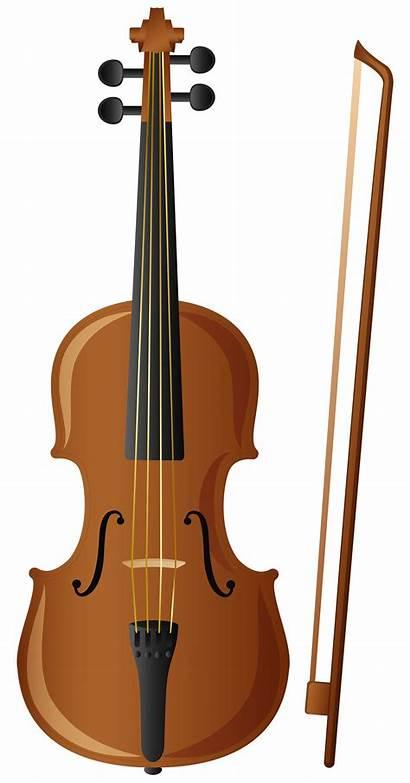 Violin Clipart Clip Fiddle Yopriceville Transparent Cliparts