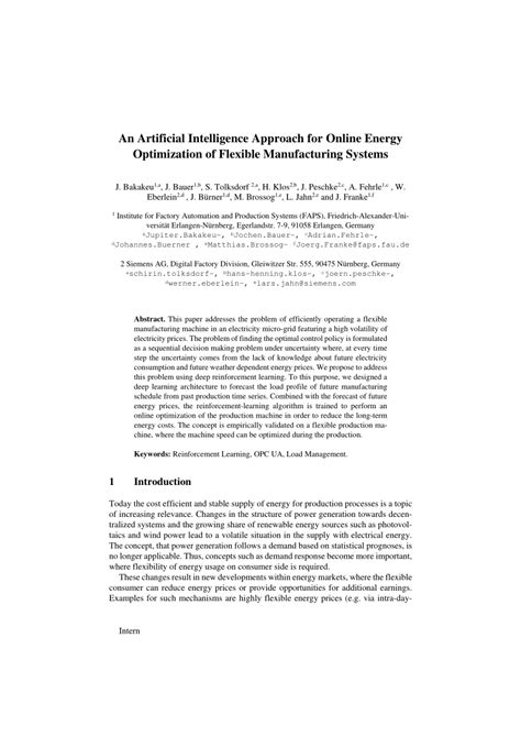 (PDF) An Artificial Intelligence Approach for Online