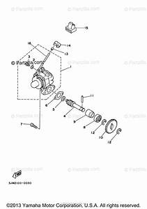 Yamaha Atv 1996 Oem Parts Diagram For Oil Pump