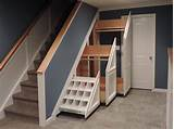 If you want to have exposed storage, you can easily make boxes to use as shelves between the studs beneath your stairs. Some Items to Store in Under Stair Storage Place ...