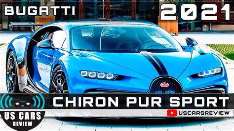 All photos are sample images and it is not photos of the actual car. 2021 BUGATTI CHIRON PUR SPORT Review Release Date Specs Prices - YouTube