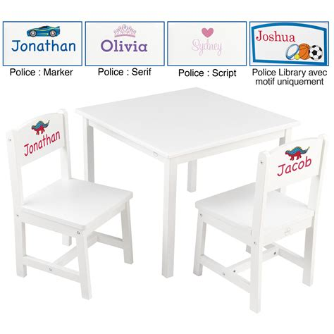 table chaise enfants table chaise enfant