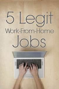 5 Legitimate Wo... Work From Home Jobs