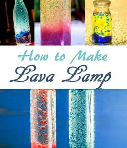 How to Make Lava Lamps for Kids