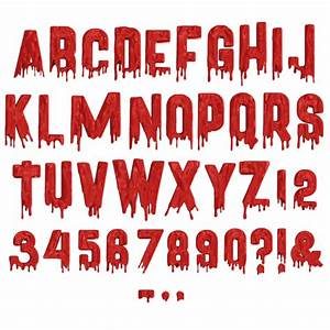 Blood Is Thicker Than Water Design Buy Invisible Horror Font To Make Everyone Freeze With Fear