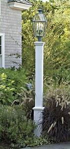 White Outdoor Lamp Post Lighting How To Build Lamp Post Sleeve Google Search Outdoor