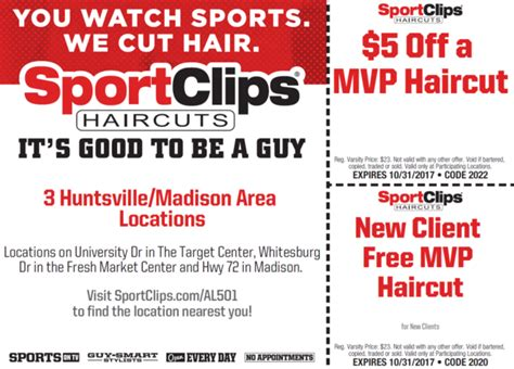 Sport Clips Mvp Haircut
