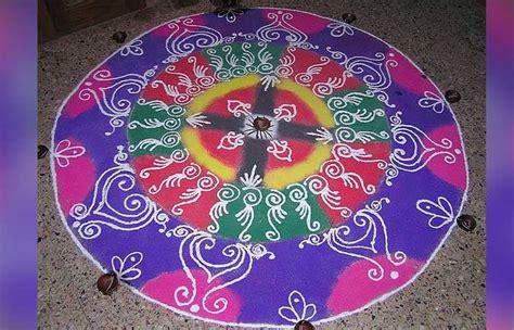 simple  easy rangoli designs  diwali beauty epic