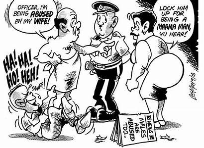 Jamaica Jamaican Gleaner Cartoon Quotes Woman Cartoons