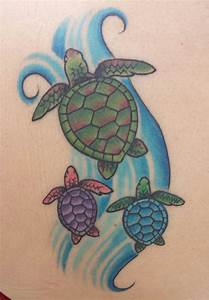 50+ Attractive Turtle Tattoos | Nautical/Coastal ...