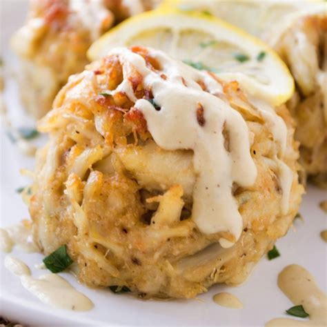 These crab cakes topped with a dollop of this easy lemon mayo sauce makes me a very happy girl. 30 Ideas for Condiment for Crab Cakes - Best Round Up Recipe Collections