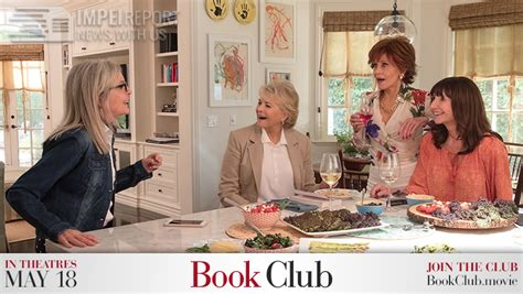 Book Club 2018 Movie Poster Trailer Review Impelreport